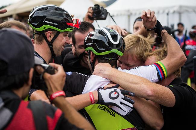 Nach eigenen Angaben ist das Team das erfolgreichste UCI-MTB-Team aller Zeiten.