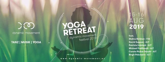 Das Yoga Retreat ist ein neuer Teil des diesjährigen Dynamic Movement Festival 2019 in Cap Wörth, am Wörthersee, Österreich! Achtsamkeit, Workshops, Mediation, Flow, Ashtanga, Akro Yoga, Konzerte, Alignement, Urlaub und Genuss versüßen dir den Sommer 2019