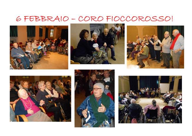 Concerto presso Residenza San Pietro - Monza 6 febbraio 2016