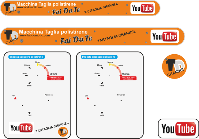 Youtube centralina taglia polistirene labdomotic for Centralina domotica