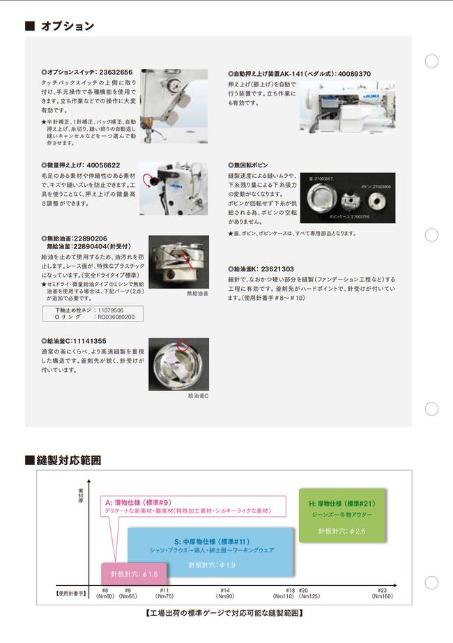 JUKI DDL-9000BSS 新品 工業用ミシン ダイレクトドライブ本縫い自動糸切りミシン