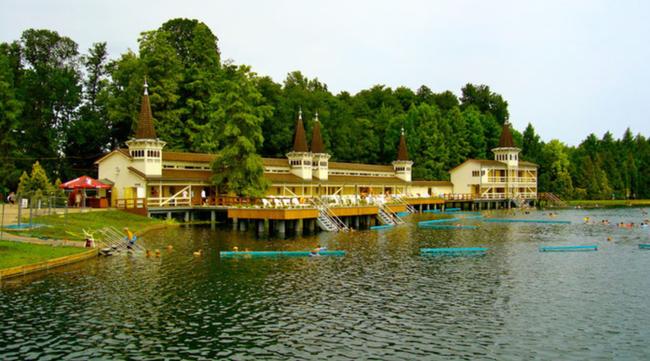 хевиз венгрия озеро