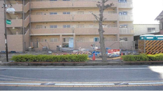 コンクリート舗装工事 施工前写真