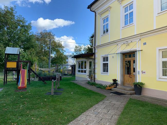 Eingang Villa Sonnenschön