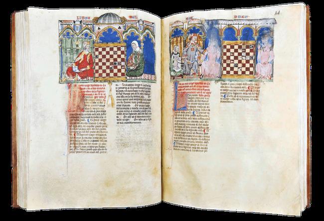 Livro de los juegos, de ajedrez, dados y tablas. Temple de Paris