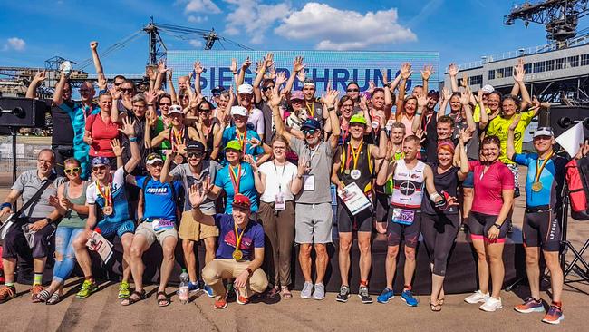 Alle teilgenomme Gl-Triathleten aus ganz Deutschland