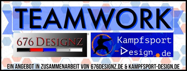 TEAMWORK 676DESIGNZ.de DesignAgentur - Kampfsport Design - 676 Partner