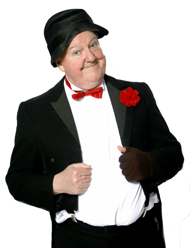 Jimmy Cricket performs his comedy show in aid of Francis House Children's Hospice at the Millgate on 19th May 2018