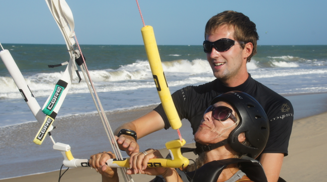 IKO Kitecourse and Lessons ... Your Kiteschool in Cumbuco !