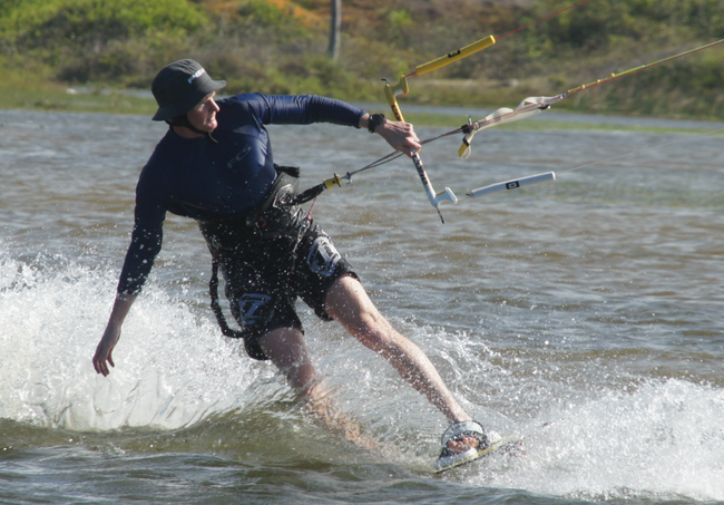 Dave from Australia Kiting with Cumbuco Guesthouse