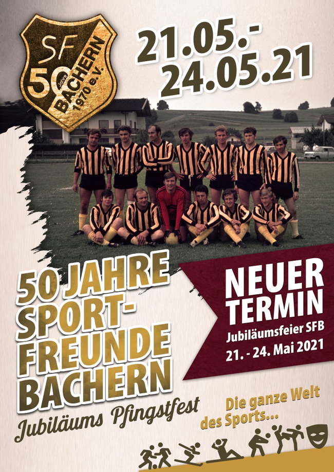 50 Jahre Sport-Freunde Bachern - Jubiläums Pfingstfest