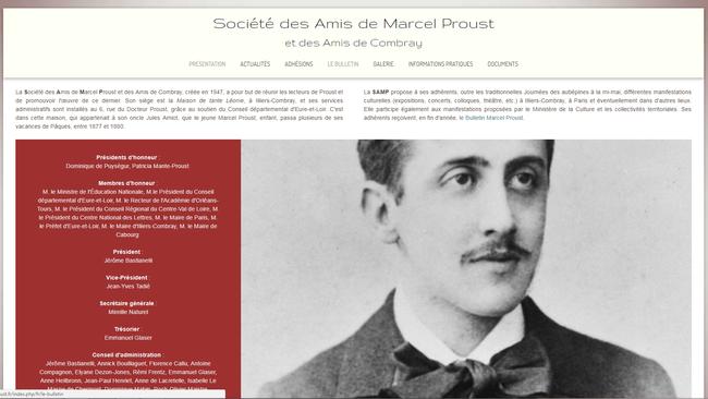 http://www.amisdeproust.fr/index.php/fr/presentation-fr