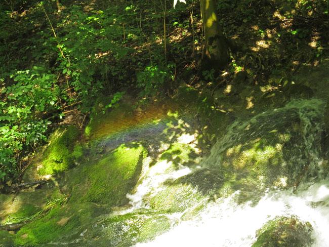 Wasserfall Wiesaz Regenbogen