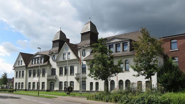 Das ehemalige EBV-Hauptgebäude