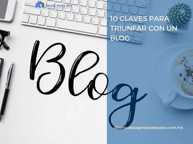 como triunfar con un blog - triunfar con un blog - diseño de páginas web