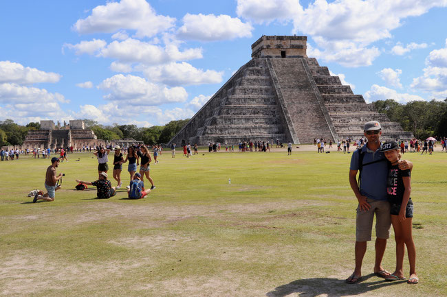 Stufenpyramide El Castillo