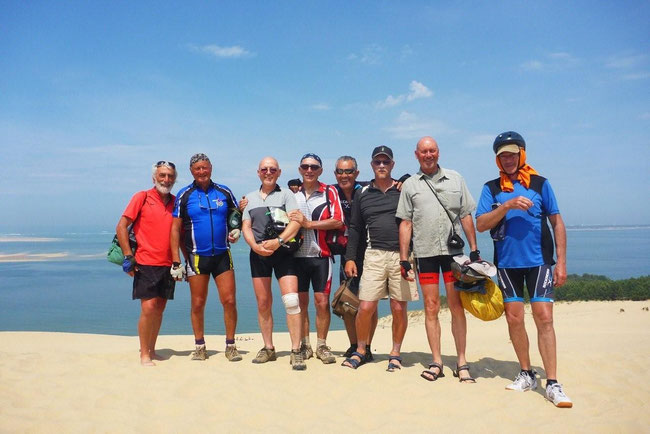 La photo du sommet à la dune du Pyla (153 m)