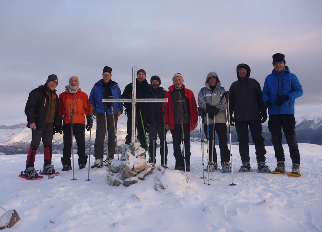 Sommet des Cluots (2106 m) 8.25