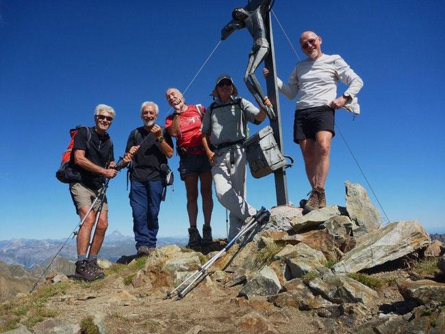 Cime de la Lombarde (2800 m)