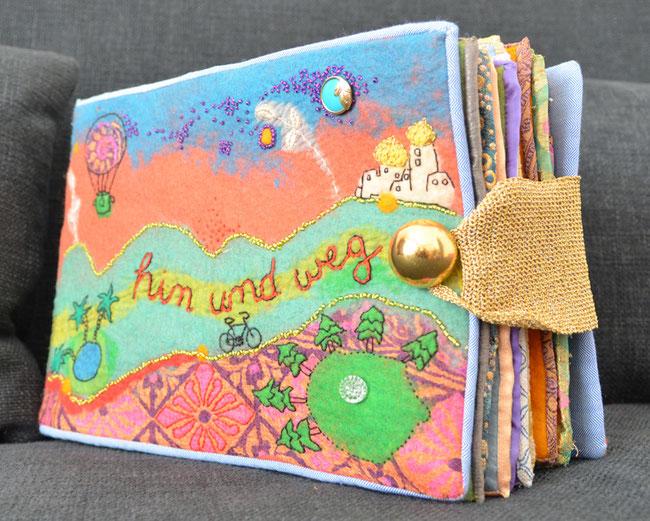 textiles Buch von faserverbund