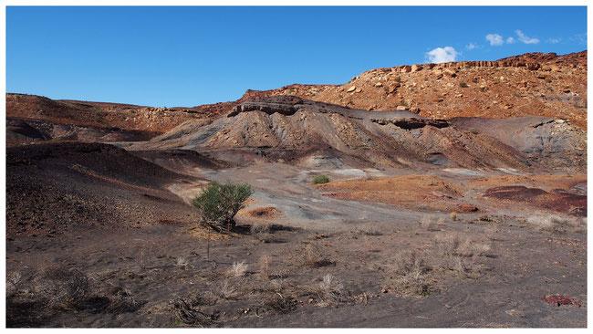 Montagne brûlée ; Namibie