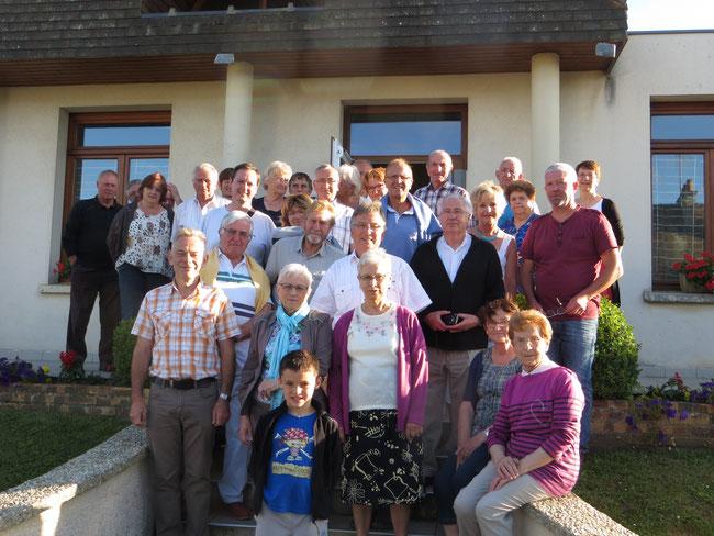 quelques uns des bénévoles de la fête du pain 2016