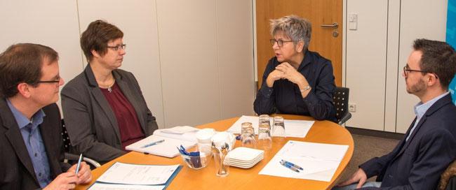 Timo Lichtenthäler, Heidi Becker, Christoph Krier und Wolfgang Wünschel (Fotograf)