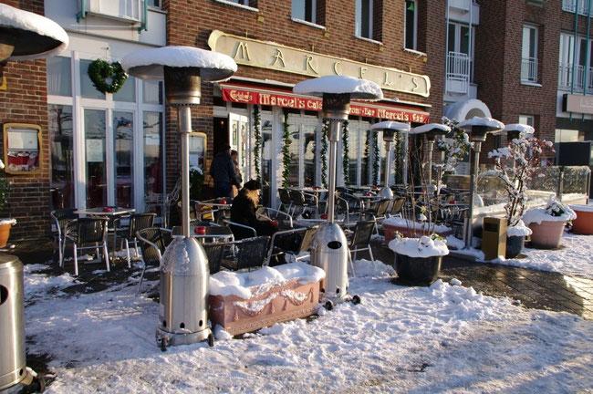 Marcel's Cafe in der Altstadt Düsseldorf