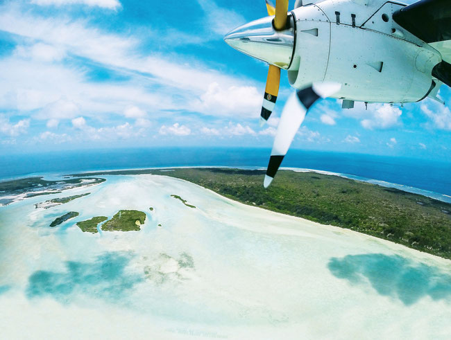 Fly fish The Seychelles, View out of the plane, FFTC.club saltwater destination, Astove Atoll, Fly fish the best saltwater destinations at the Seychelles.