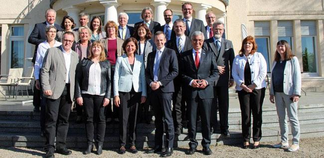 Verhandlungsteam von SPD, FDP und Bündnis 90/Die Grünen