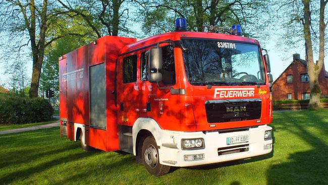 Linke Seite vom Fahrzeug - Freiwillige Feuerwehr Siek