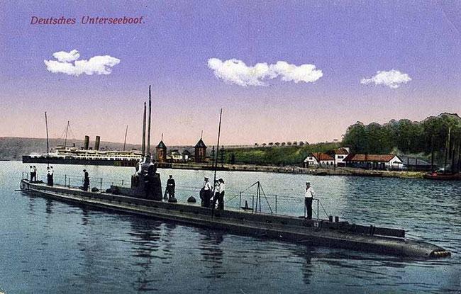 1. Generation der U-Boote mit Petroleummotor (Quelle Wikipedia)