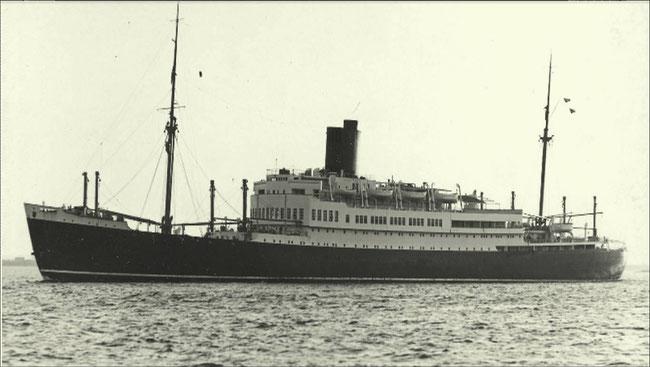 Fracht- und Fahrgastschiff SCHARNHORST. Foto: Hans Hartz /Archiv DSM