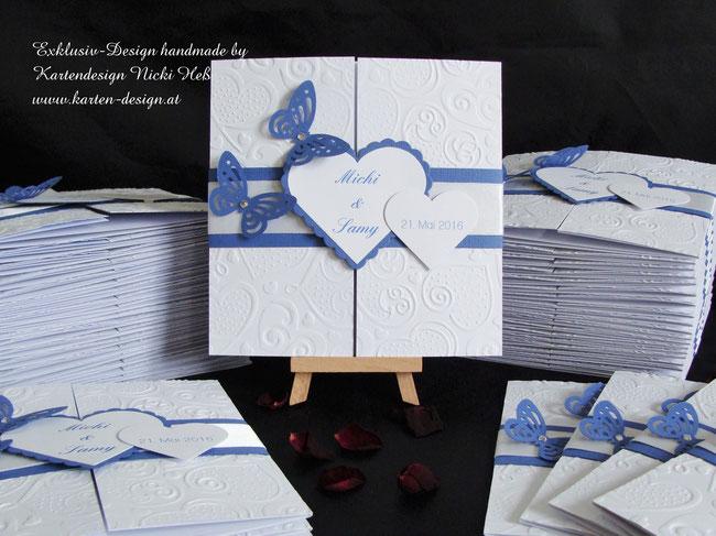 Hochzeit, Hochzeitseinladungen, Hochzeitskarten, Unikate, Einladungen, Einladungskarten, Kartendesign, Kartenshop, Kartengalerie, Heß, Hess, Nicki, Niki, Lovecard, Straßwalchen, Karten, Unikat, einzigartig, exklusiv, stilvoll