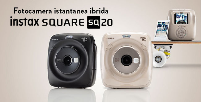 Fujifilm Instax Square SQ20 disponibile in Sardegna