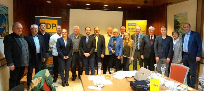 v.L.: P.-P. Baum, T. Graef, M. Lichtenthäler, M. Helling, K. Lemke, K.-O. Hahn, D. Lemke, G. Bomm, P. Meffert, K. P.-Dietz, M. Becker, A. Mehmeti, H. Speyerer, G. Gareis, F. Glock, K. Gareis, A. Buda