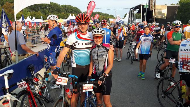 Für den SC Filstal starteten Davor Mesaros (170 km) und Daniela Mesaros (125 km)