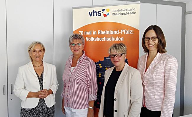 Monika Nickels, MdL Helga Lerch, Ute Friedrich, Steffi Rohling