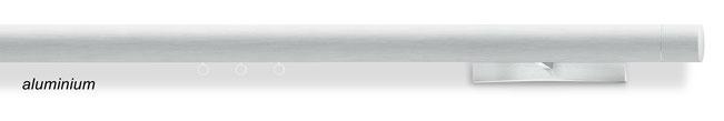 W§, runde Wellenvorhang-Stange in aluminium, von interstil in Langenselbold bei Lamellen Junker