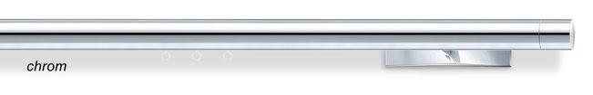 runde Wellenvorhang-Stange W3, chrom, von interstil bei Lamellen Junker in Langenselbold