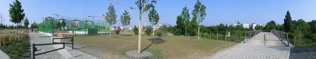 Nördlicher Taschenpark - Juli 2013