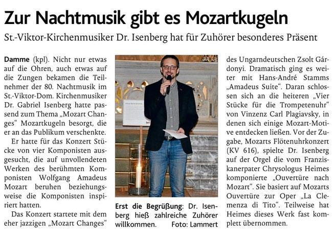Oldenburgische Volkszeitung, 24.09.2021