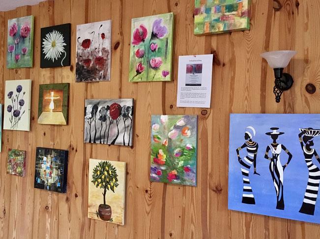 Kunst Ausstellung Mathilda Ahrensberg