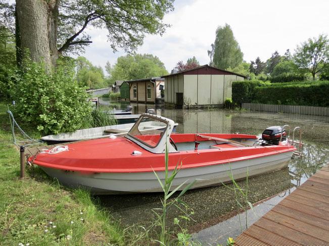 """Sportboot """"Ibis I"""" mit starkem 9,9 PS-Motor (führerscheinfrei)"""