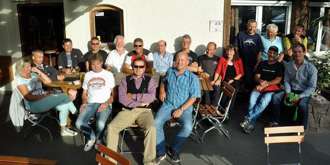 Falkenclub am 25. August 2013 beim Brugghof