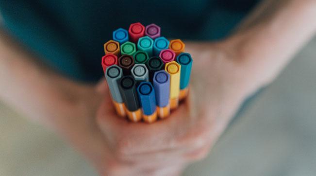Kreativität Onlinekurse heilsames intuitives Malen Ausdrucksmalerei Visualisierung