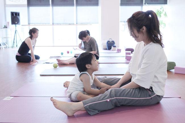 産前産後ピラティスクラス