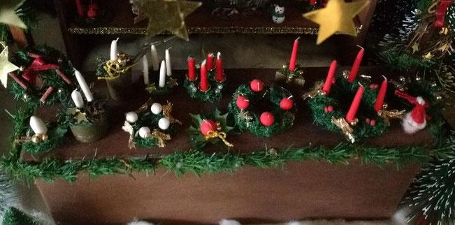 Weihnachtsminiaturen