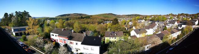 Siegen Achenbach im April