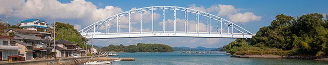 人間回復の橋と呼ばれる邑久長島大橋(写真:NPO法人ハンセン病療養所世界遺産登録推進協議会)